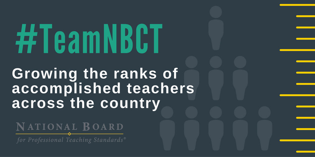 Want Personalized PD? Become a National Board Certified Teacher.